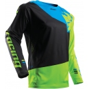 Thor Jersey Fuse Pinin Black/Lime