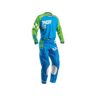 Thor Kinder MX Combo Jersey + Hose Phase Ramble Blue 2016