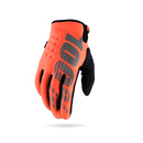 100% Winter Handschuhe Brisker Caltrans Orange