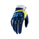 100% Handschuhe Airmatic Navy/Yellow