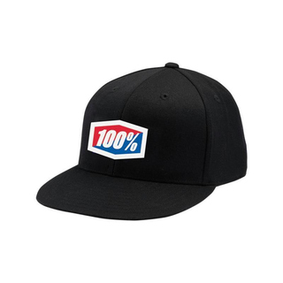 100% Flexfit Cap Essential Black