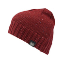 100% Beanie/Mütze Niva Red Heather