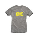 100% MX T-Shirt Essential Grau