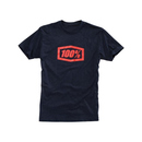 100% T-Shirt Essential Navy Heather