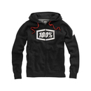 100% Kaputzenjacke Zip-Hoody Syndicate Black Heather