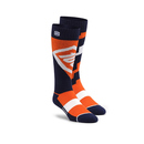 100% Moto Socks Coolmax Comfort Socken Torque Orange