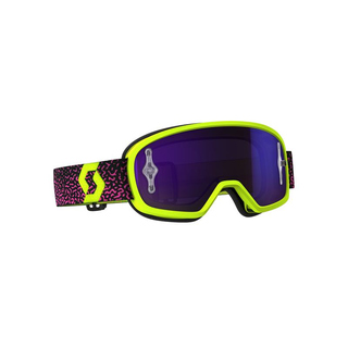 Scott Kinder Crossbrille Buzz MX Pro Neongelb/Pink -...