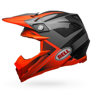 Bell Moto-9 Flex Helm Hound Orange/Charcoal