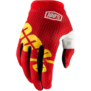 100% Handschuhe Itrack Fire Red