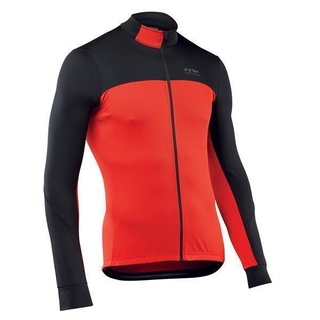 Northwave Winter Jersey Long-Sleeve Force 2 schwarz/rot
