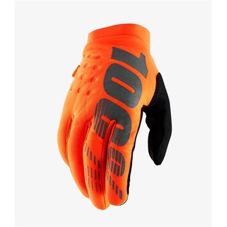 100% Brisker 2019 Winter Handschuhe fluo orange