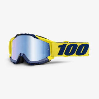 100% Crossbrille Accuri Supply blau verspiegelt