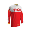 Thor Jersey Phase Hyperion rot/weiß