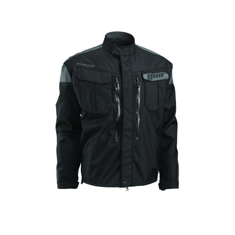 Thor Endurojacke Phase Black/Charcoal