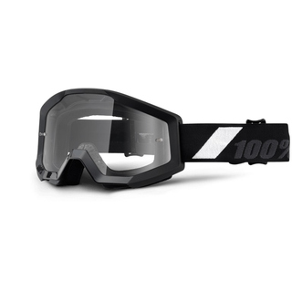 100% MX Brille Strata Goliath, klar