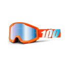 100% MX Brille Strata Orange, blau verspiegelt