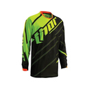 Thor Kinder MX Jersey Phase Vented Doppler Black/Flourescent