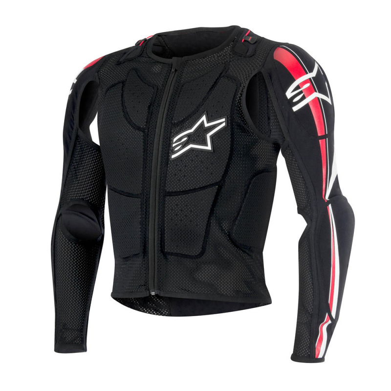 Alpinestars Protektorenjacke Bionic Plus, Black/Red/White