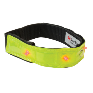 WOWOW Reflex LED-Klettband gelb Smart Bar