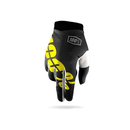 100% Handschuhe Itrack Black/Neon Yellow